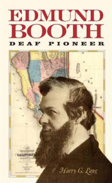 Book cover Edmund Booth, Deaf Pioneer