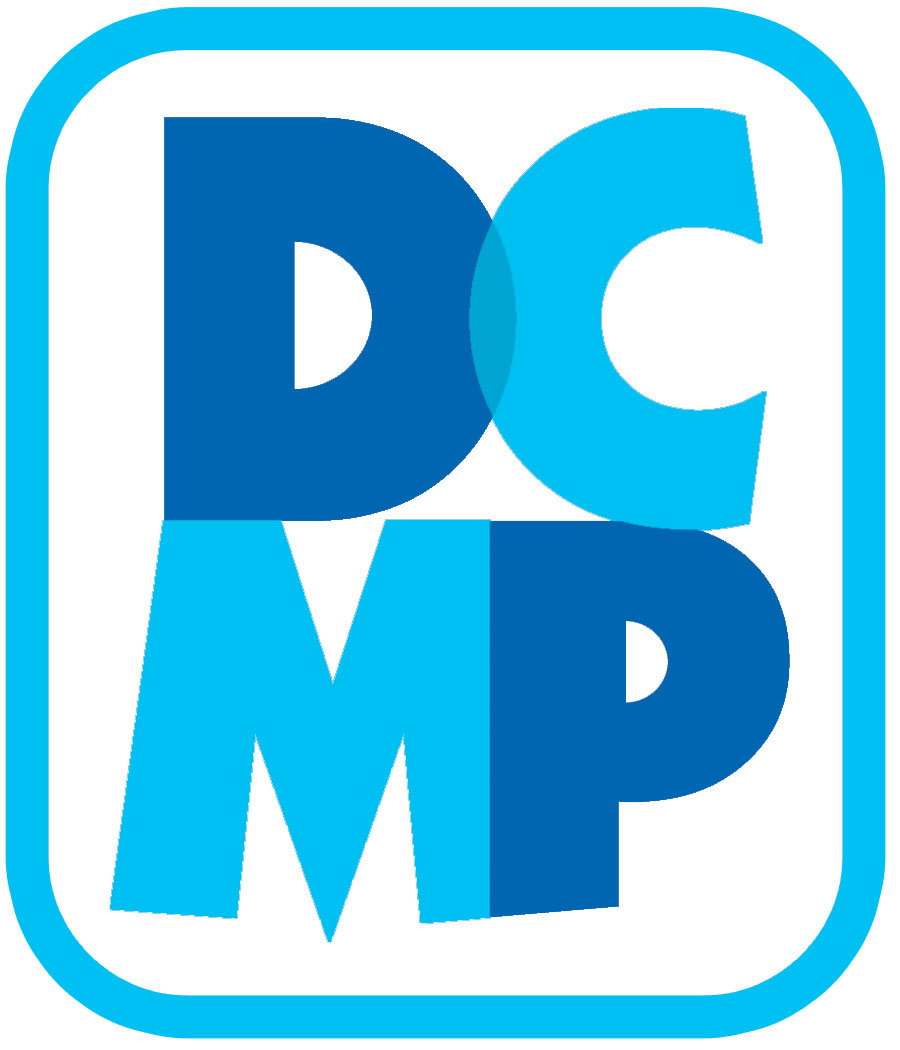 DCMP Described and Captioned Media Program logo 2014.