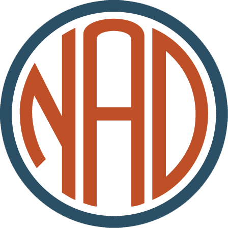 National Association of the Deaf logo.