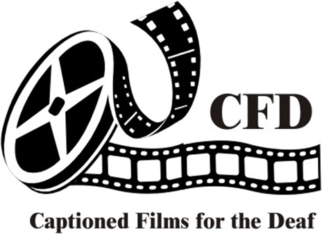 CFD Captioned Films for the Deaf logo.