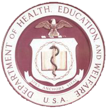 Department of Health, Education and Welfare logo.
