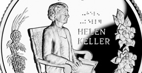 The Helen Keller Alabama quarter