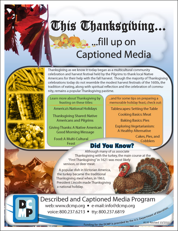 Fill Up On Captioned Media