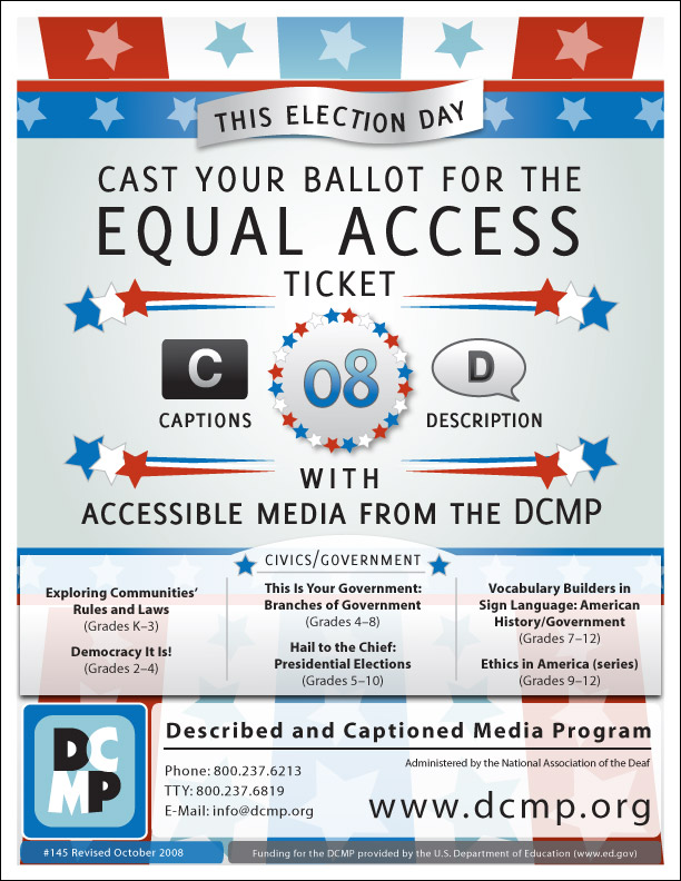 Cast Your Ballot for Equal Access