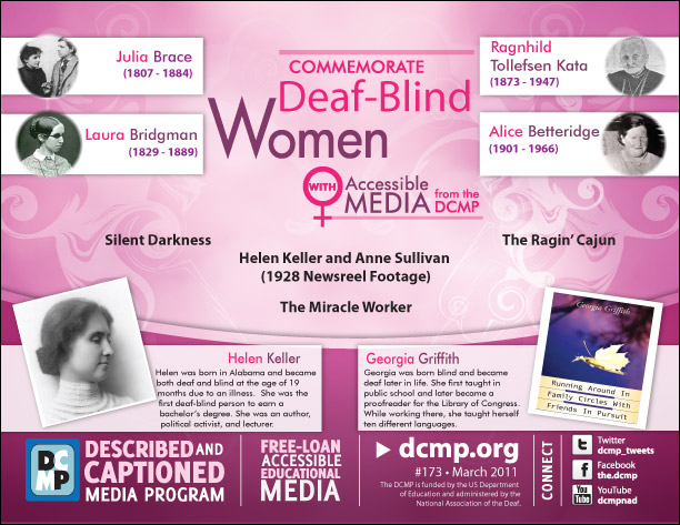Commemorate Deaf-Blind Women