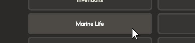 Marine Life subtopic button.