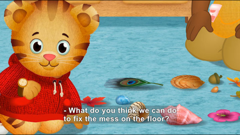 Still image from Daniel Tiger's Neighborhood: Daniel Makes a Mistake / Baking Mistakes