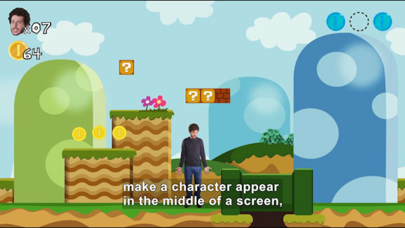 Still image from MIT Explains: How to Make a Video Game