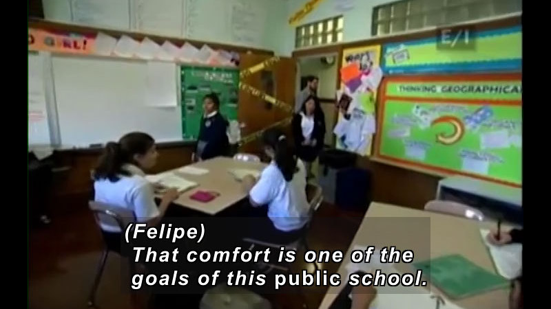 Still image from Teen Kids News (Episode 949)