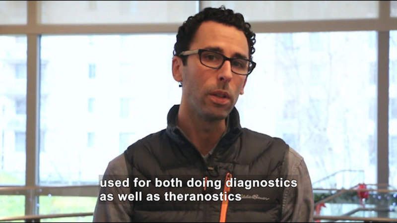 Still image from Ask a Scientist: What Nanomaterials Would Be Useful for Medicine?