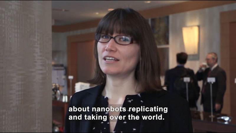 Still image from Ask a Scientist: What Are the Limitations of Nanobots?