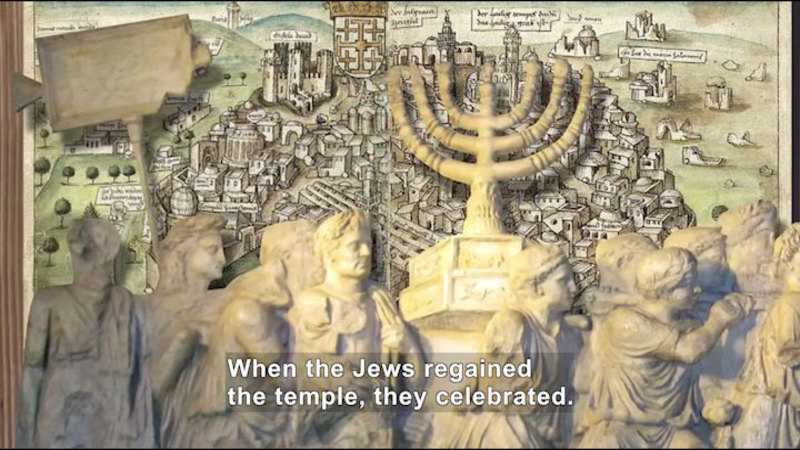 Still image from All About the Holidays: Hanukkah