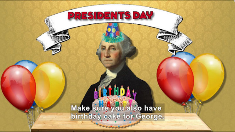 Still image from All About the Holidays: Presidents' Day