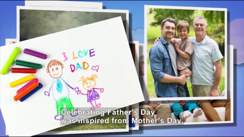 Still image from All About the Holidays: Father's Day