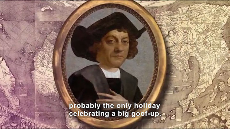 Still image from All About the Holidays: Columbus Day