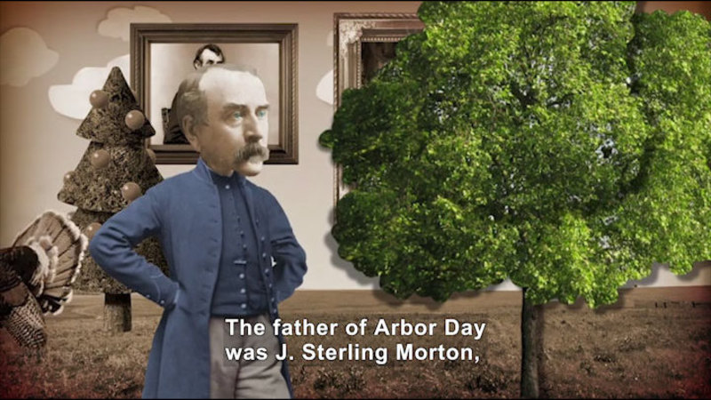 Still image from All About the Holidays: Arbor Day
