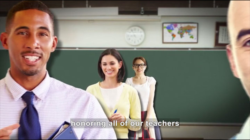 Still image from All About the Holidays: Teacher Appreciation Week