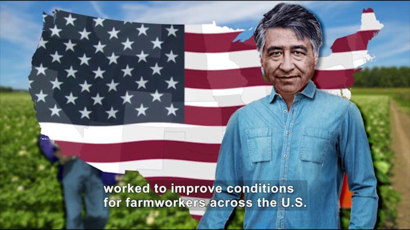 Still image from All About the Holidays: Cesar Chavez Day