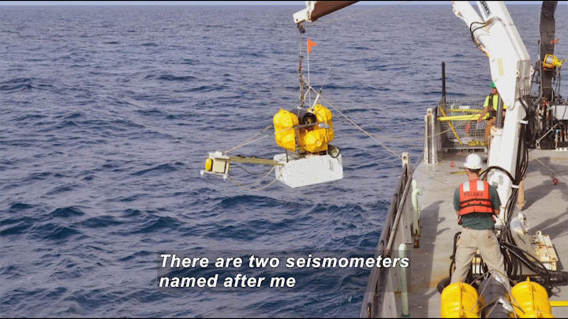 Still image from Meet a Geophysicist: Harmony Colella