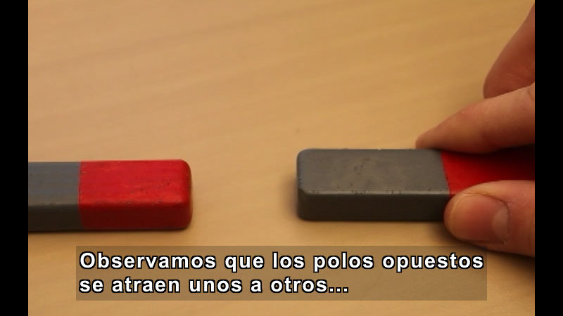 Still image from What Are Magnets? (Spanish)