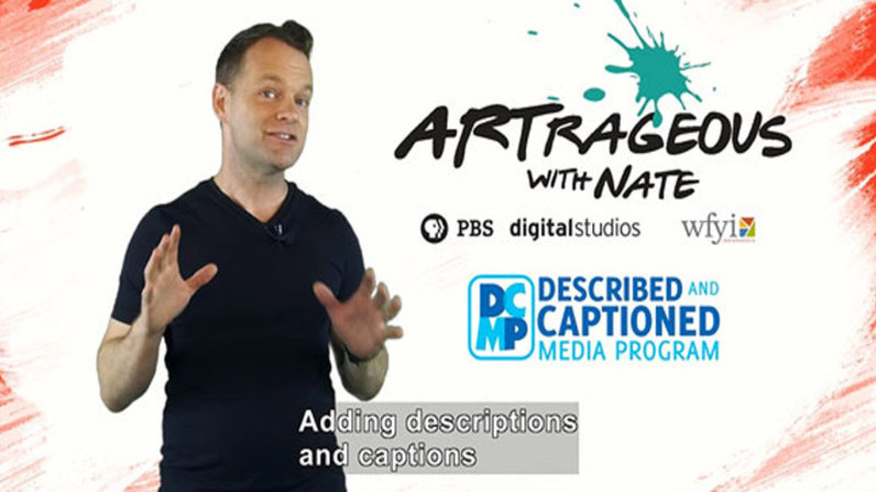 Still image from Artrageous With Nate Promo