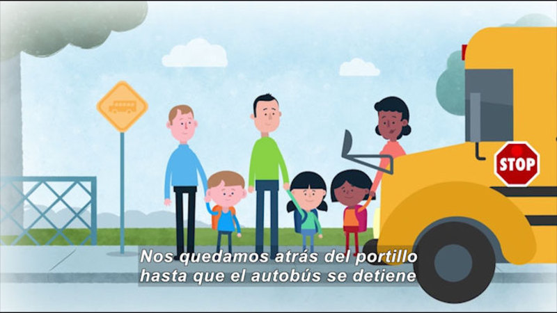 Still image from Let's Ride the Bus (Spanish)