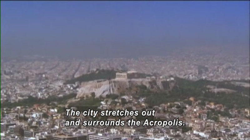 Still image from The World Heritage: Acropolis and the Great Wall