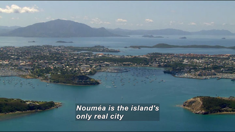 Still image from New Caledonia: Sites for Your Eyes