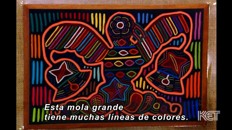 Still image from Art and More: Lesson 41 (Spanish)