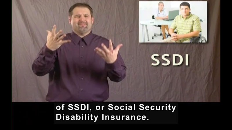 Still image from Social Security Disability Insurance Program (SSDI)