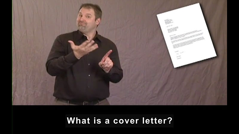 Still image from Cover Letters