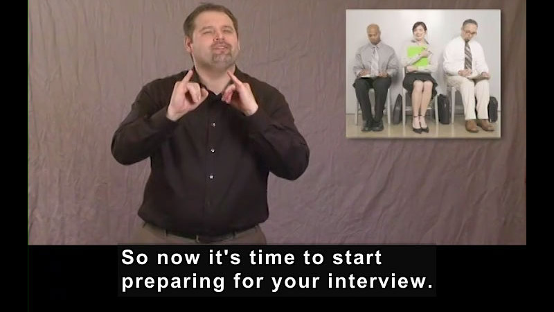 Still image from How to Prepare for the Interview