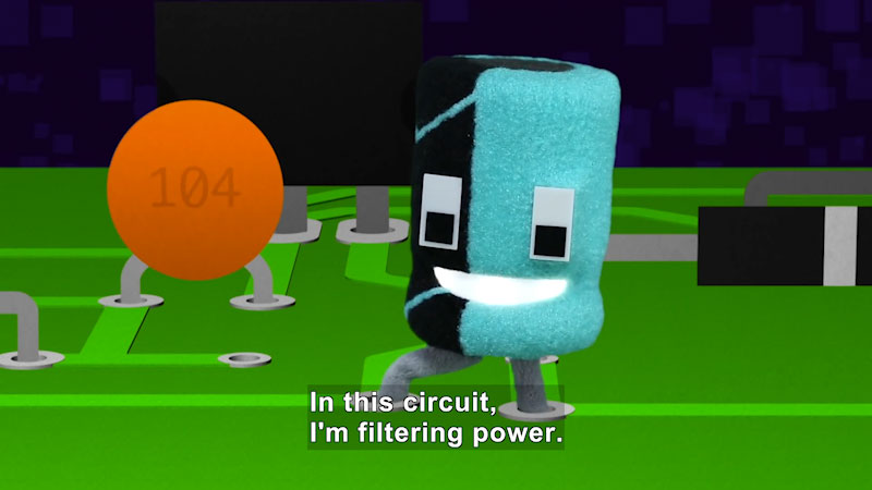 Still image from Circuit Playground: C Is for Capacitor