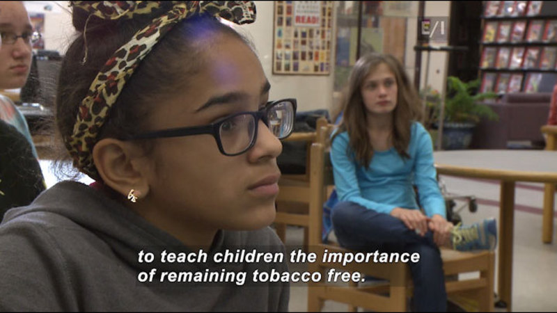 Still image from Teen Kids News: Special on Tobacco (Tar Wars)