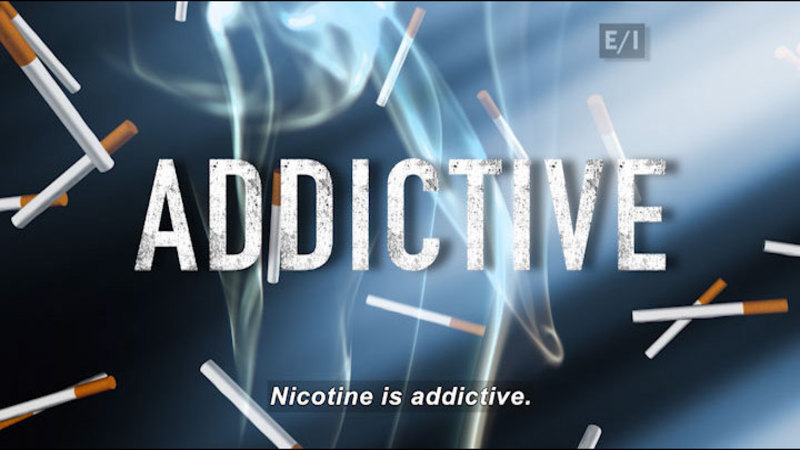 Still image from Teen Kids News: Special on Tobacco (What Is Nicotine?)