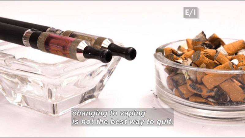 "Still image from Teen Kids News: Special on Tobacco (Why E-Cigarettes Get an ""F"")"