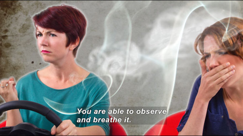 Still image from Teen Kids News: Special on Tobacco (Secondhand Smoke)
