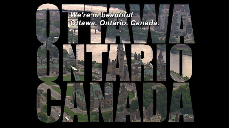 Still image from Travel Thru History: Ottawa, Ontario, Canada