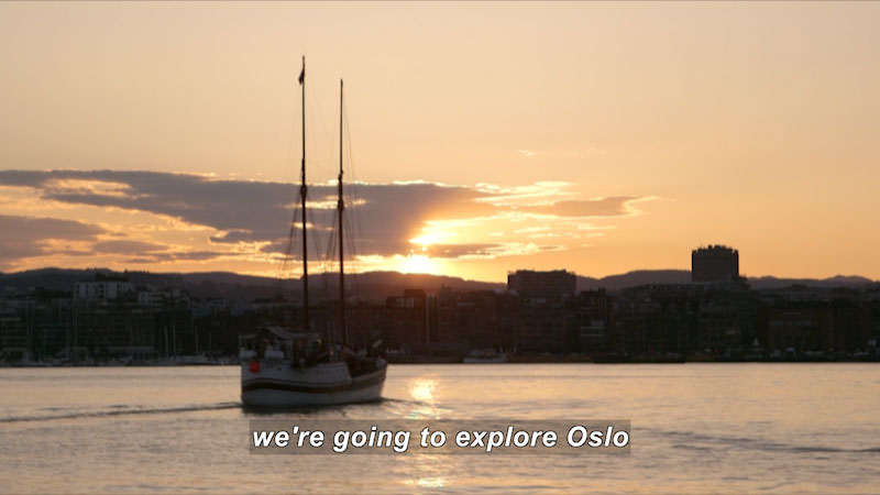 Still image from Travel Thru History: Oslo, Norway