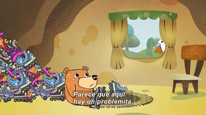 Still image from Eco S.O.S.--Consumerism (Spanish)