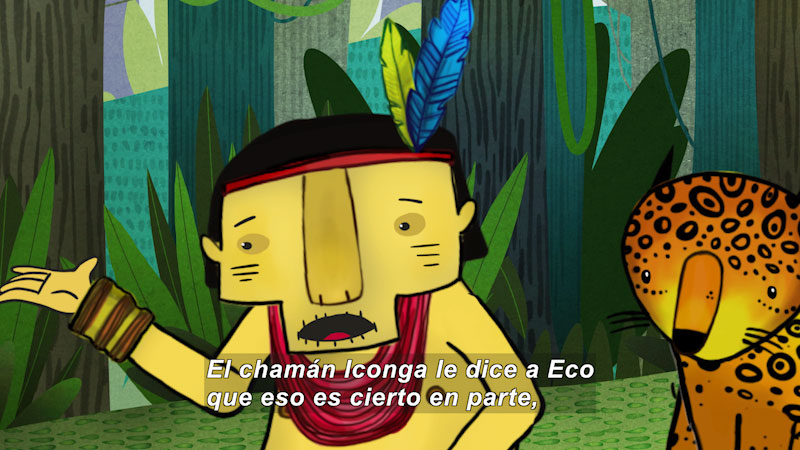 Still image from Eco S.O.S.--Forest Destruction (Spanish)