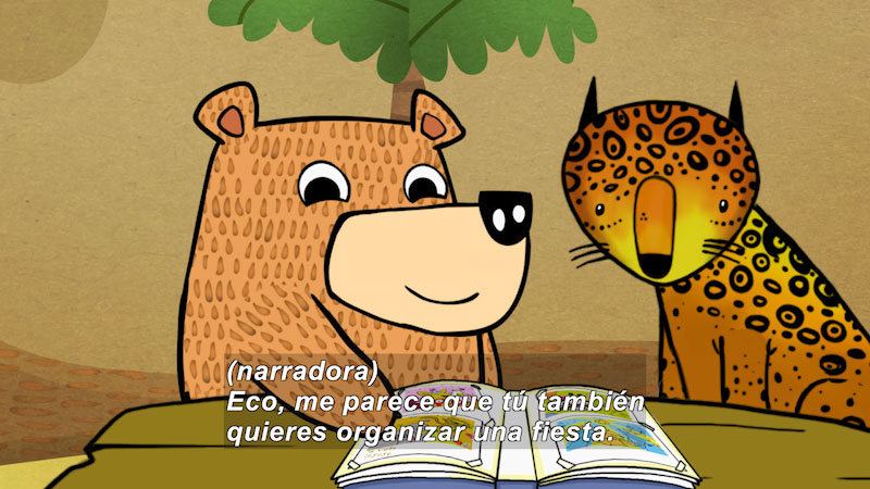 Still image from Eco S.O.S.--Forest People (Spanish)