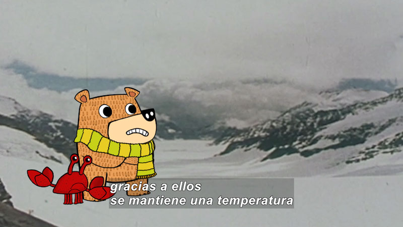 Still image from Eco S.O.S.--Warming (Spanish)