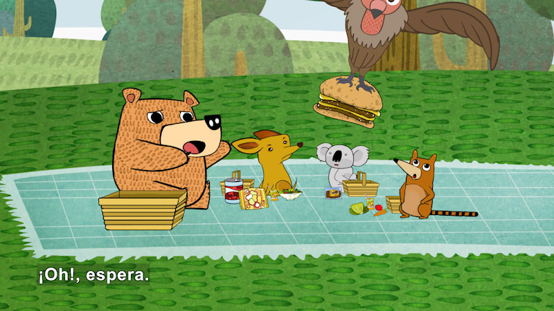 Still image from Eco S.O.S.--Hunger (Spanish)