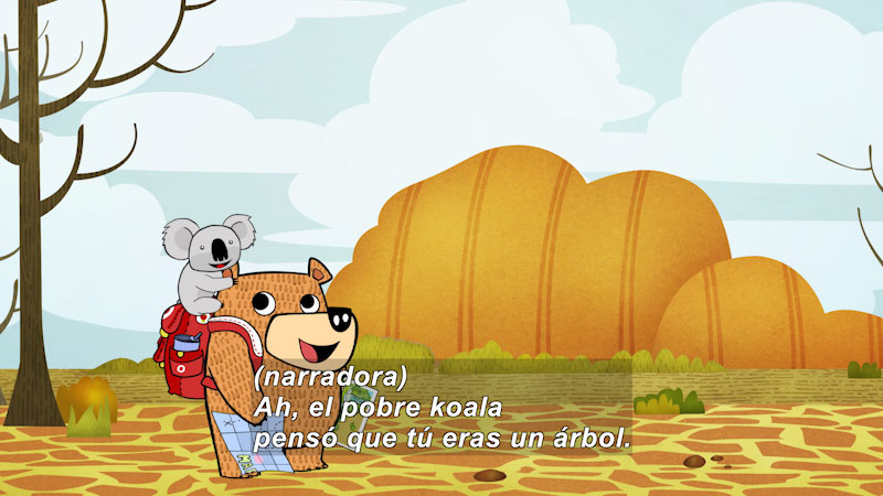 Still image from Eco S.O.S.--Deserts (Spanish)