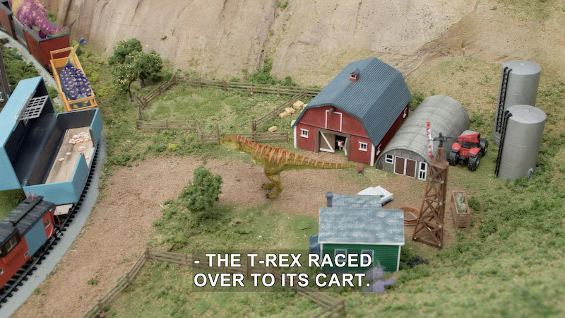 Still image from Dino Dan: Trek's Adventures--Switched At Nest/Train of Dinos