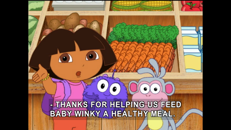 Still image from Dora the Explorer: Baby Winky Goes Home