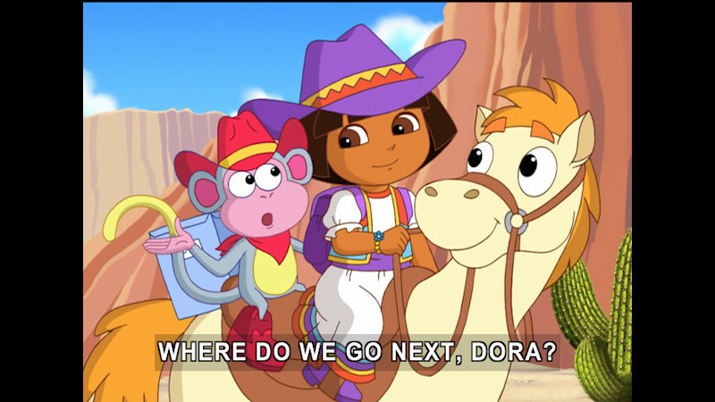 Still image from Dora the Explorer: A Ribbon For Pinto
