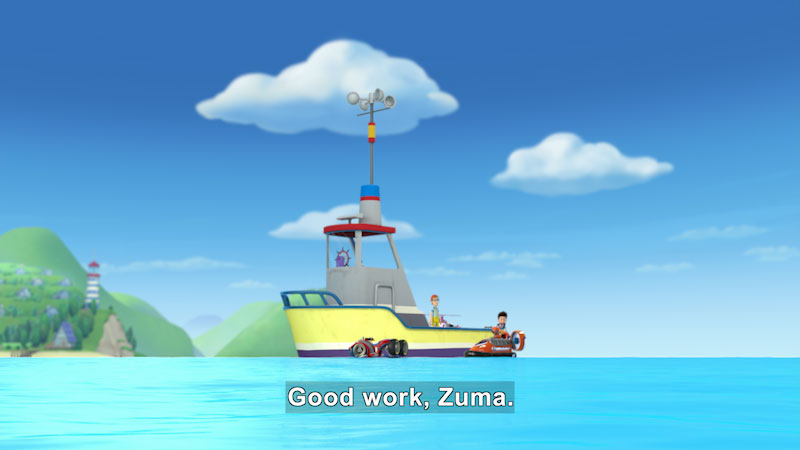 Still image from PAW Patrol: Pups Save the Bay/Pups Save a Goodway