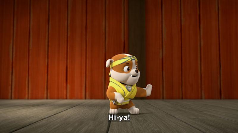 Still image from PAW Patrol: Pup-Fu!